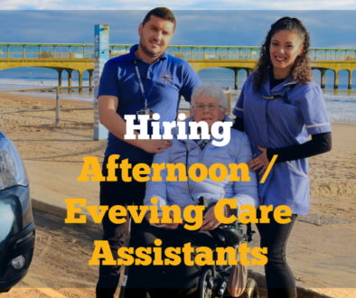 Hiring Afternoon and Evening Care Assistants now!