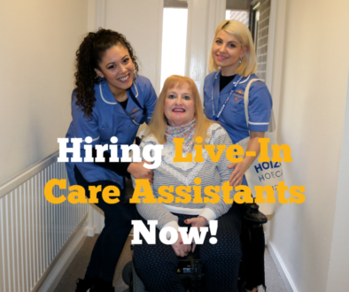 Hiring Live-In Care Assistants Now